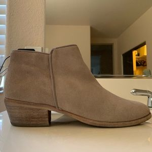 Sam Edelman Petty suede ankle booties